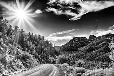 Photograph - Deer Creek Road by Howard Salmon