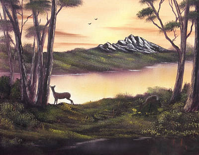 Cynthia-adams-uk Painting - Deer Island by Cynthia Adams