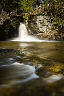 Photograph - Deer Leap Falls by Mark Robert Rogers