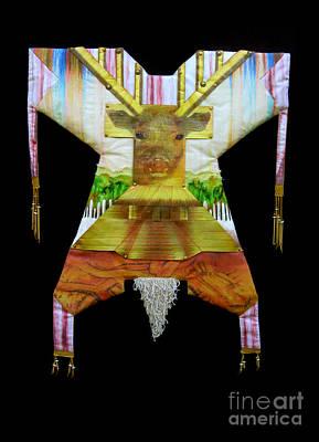 Mound Mixed Media - Deer Power Dress  by Alyssa Hinton