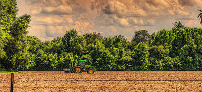 Photograph - Deere In The Field by Lewis Mann