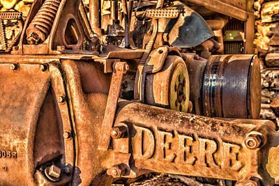 Old Farm Machinery Photograph - Deere by Paul Freidlund