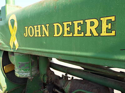 Deere Support Art Print