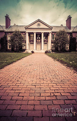 Deerfield Academy Art Print by Edward Fielding