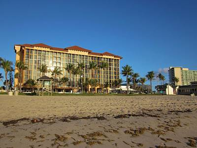 Photograph - Deerfield Beach Hotel by MTBobbins Photography