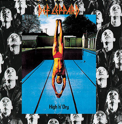 Def Leppard - High 'n' Dry 1981 Art Print by Epic Rights