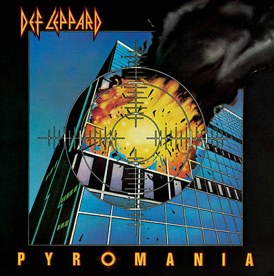 Def Leppard - Pyromania 1983 Print by Epic Rights