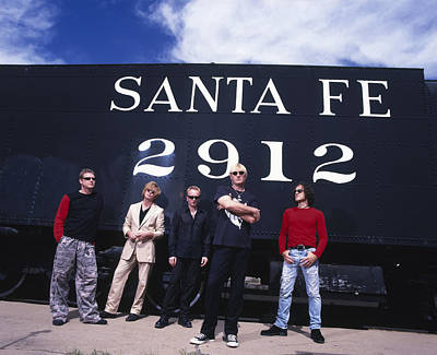Def Leppard - Santa Fe 1999 Print by Epic Rights