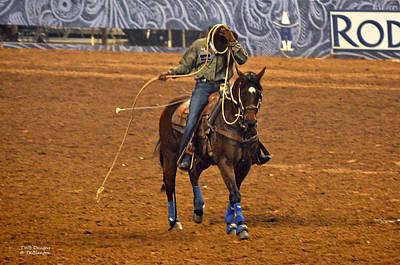 Photograph - Defeated Cowboy by Teresa Blanton