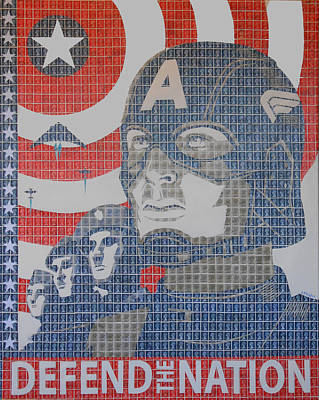 Defend The Nation Art Print by Gary Hogben