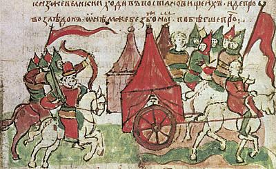 Defense Of Kiev Art Print by Granger
