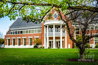 Photograph - Defiance College 2 by Michael Arend