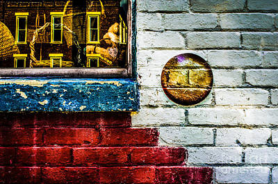 Photograph - Defiance Ohio Wall  by Michael Arend