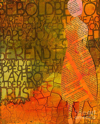 Mixed Media - Defining Self by Angela L Walker