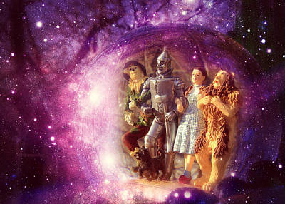 Marvelous Marble Rights Managed Images - Definitely Not In Kansas Anymore - Wizard Of Oz Royalty-Free Image by Aurelio Zucco