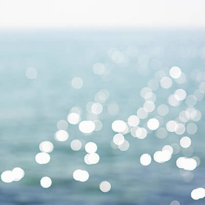 Abstract Photograph - Defocused View Of Sea by Dougal Waters