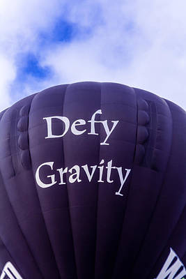 Photograph - Defy Gravity 2 by Teri Virbickis