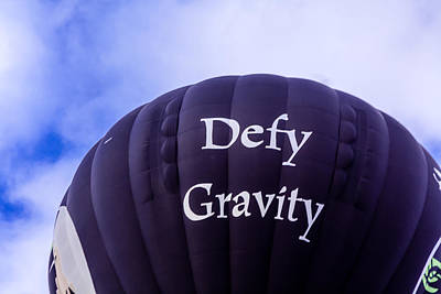 Photograph - Defy Gravity by Teri Virbickis