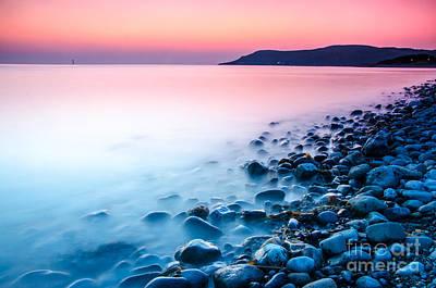 Deganwy Sunset Art Print by Darren Wilkes
