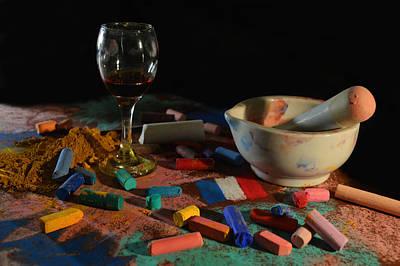 Photograph - Degas Colors 2 by David Clode