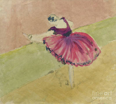Degas Dancer In Pink 1994.  Original by Cathy Peterson