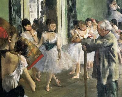 Degas, Edgar 1834-1917. The Dancing Art Print by Everett