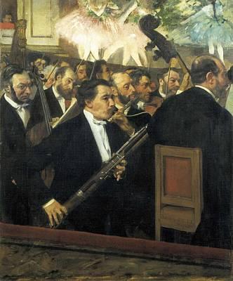 Op Art Photograph - Degas, Edgar 1834-1917. The Opera by Everett