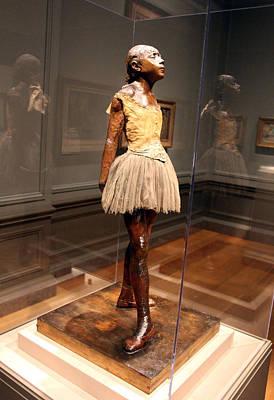 Photograph - Degas' Little Dancer Aged Fourteen by Cora Wandel