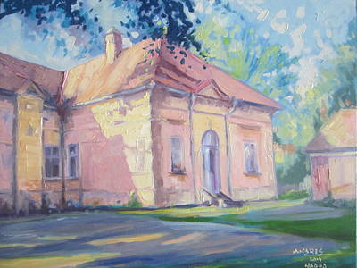 Painting - Degenfeld Castle by Andrei Attila Mezei