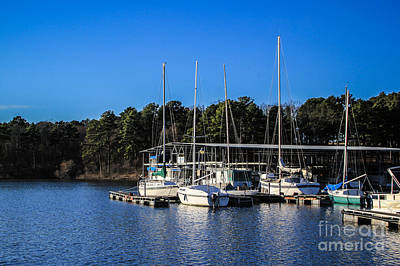 Photograph - Degray Marina by Jim McCain