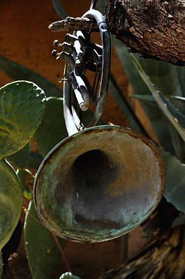 Degrazia Garden Instruments Print by Mark Valentine