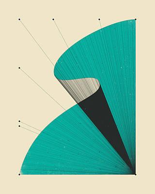 Modern Abstract Digital Art - Deja Vu 4 by Jazzberry Blue