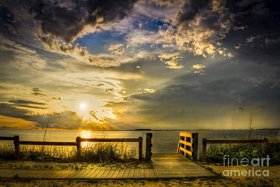 Sunrays Photograph - Del Sol by Marvin Spates