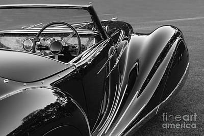 Photograph - Delahaye 135 M by Dennis Hedberg