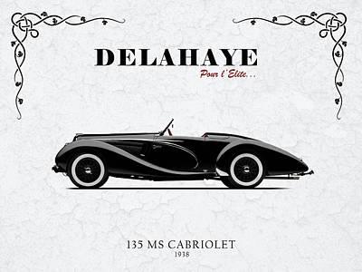 Delahaye Photograph - Delahaye 1938 by Mark Rogan