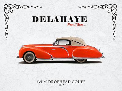 Delahaye Photograph - Delahaye Coupe 1947 by Mark Rogan