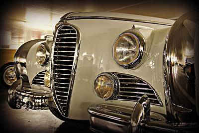 Old Car Photograph - Delahaye Decadence by Steve Natale