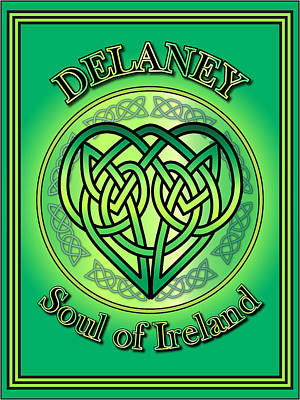 Digital Art - Delaney Soul Of Ireland by Ireland Calling