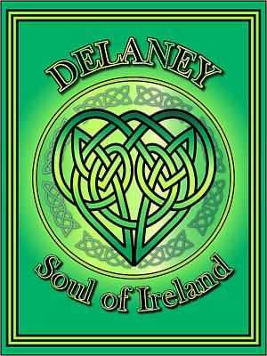 Digital Art - Delaney Soul Of Ireland by Ireland Calling