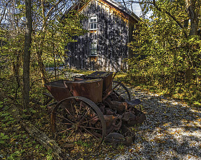 Photograph - Delaurier Homestead by Jack R Perry