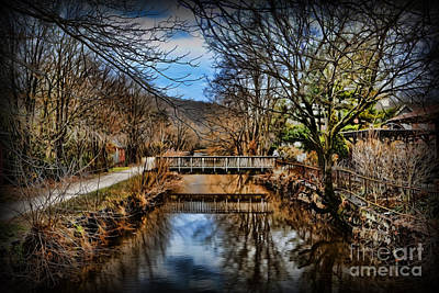 Digital Art - Delaware And Raritan Canal -  Lambertville by Lee Dos Santos