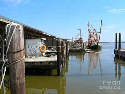 Photograph - Delaware Bay Oyster Boats  by Nancy Patterson