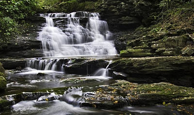 Photograph - Upper Mohican Falls by Paul Riedinger