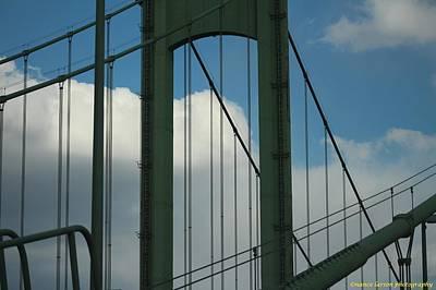 Photograph - Delaware Memorial Bridge by Nance Larson