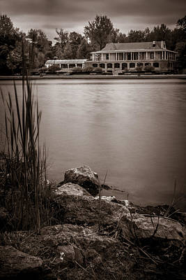 Photograph - Delaware Park Marcy Casino by Chris Bordeleau