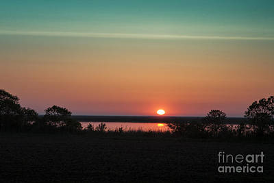 Photograph - Delaware Sunrise by Ronald Lutz