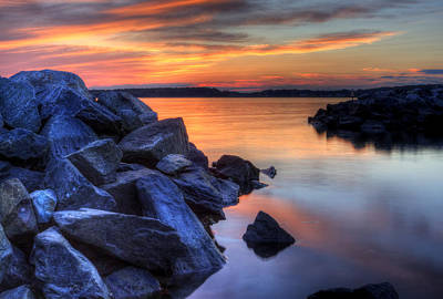 Photograph - Delaware Sunset by David Dufresne