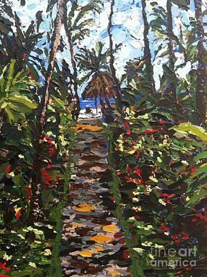 Delray  Path Original by Melanie Bianculli