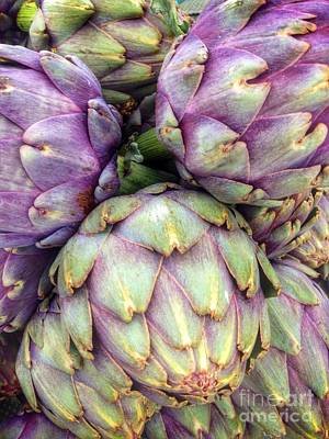 Photograph - Delectable Artichokes by Susan Garren
