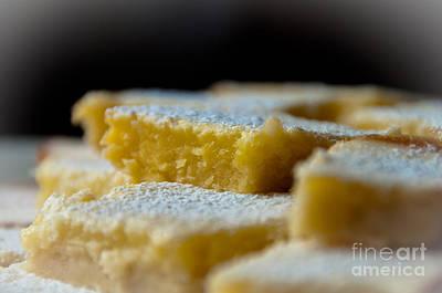 Travel - Delectable Lemon Squares by Cheryl Baxter